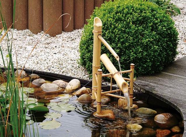 De shishi odoshi een mooi japans waterornament in uw tuin for Waterornament tuin